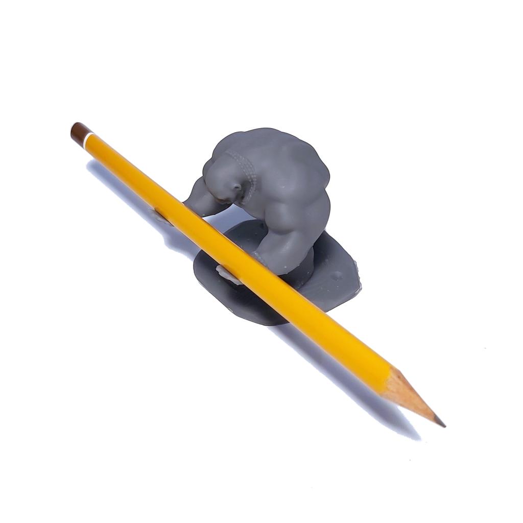 figurka 3D wydruk precyzyjny 3D metodą SLA